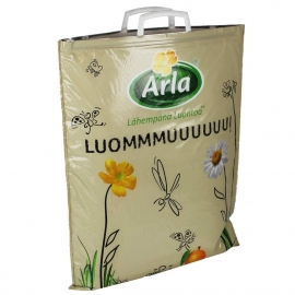 Clip Close Handle Carrier Bags